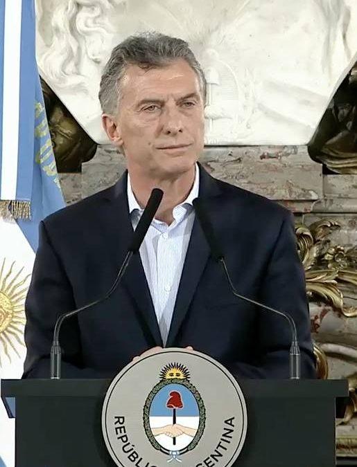 MI RESEÑA DE LA CONFERENCIA DE PRENSA DEL PRESIDENTE MACRI EN LA CASA DE GOBIERNO
