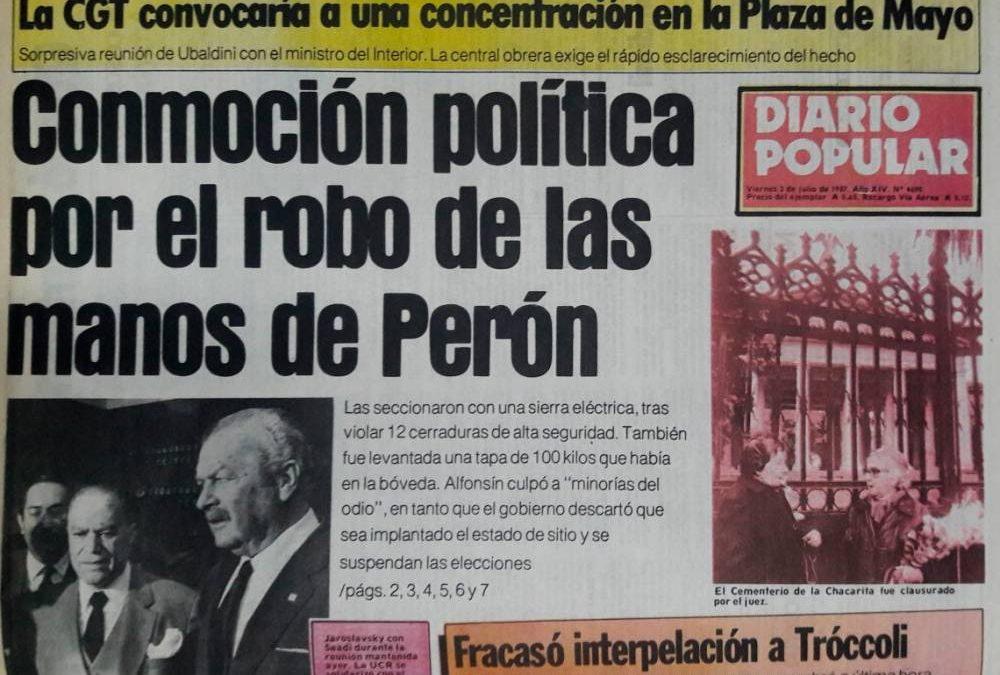 NUEVE CONSPIRACIONES QUE MARCARON A FUEGO DE MANERA MUY REALISTA LA ACTUALIDAD ARGENTINA