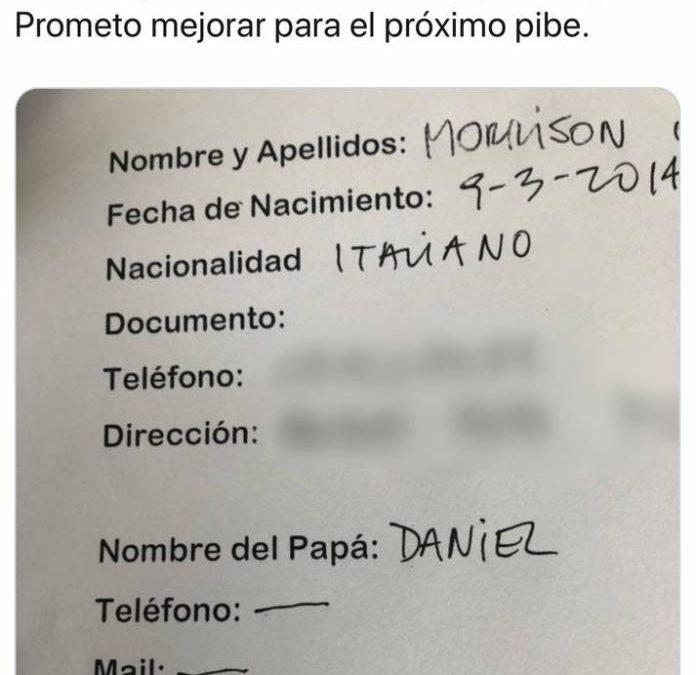 'EL HIJO DE JIMENA BARON MAS QUE UN HIJO PARECE UN ABORTO PERDIDO' (LE DICEN EN TWITTER)