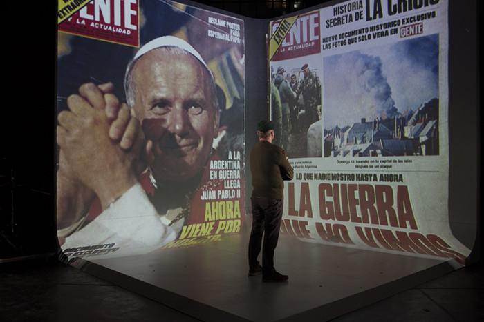 'ES COMO QUE NO SE CONJUGAR LA HISTORIA DE MALVINAS DE LOS DEMÁS CON LA MÍA'