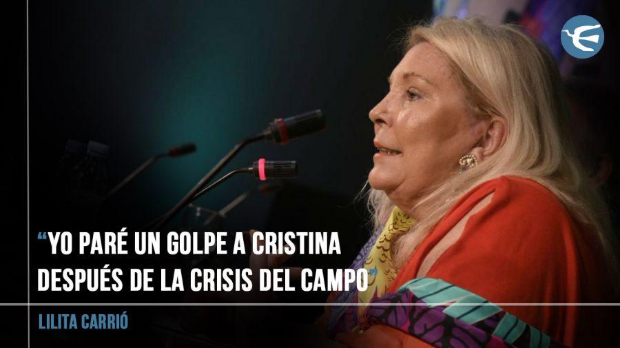 CFK EN SU LIBRO: 'LILITA NO VIVE EN VERSALLES. SÓLO LA INVITAN'