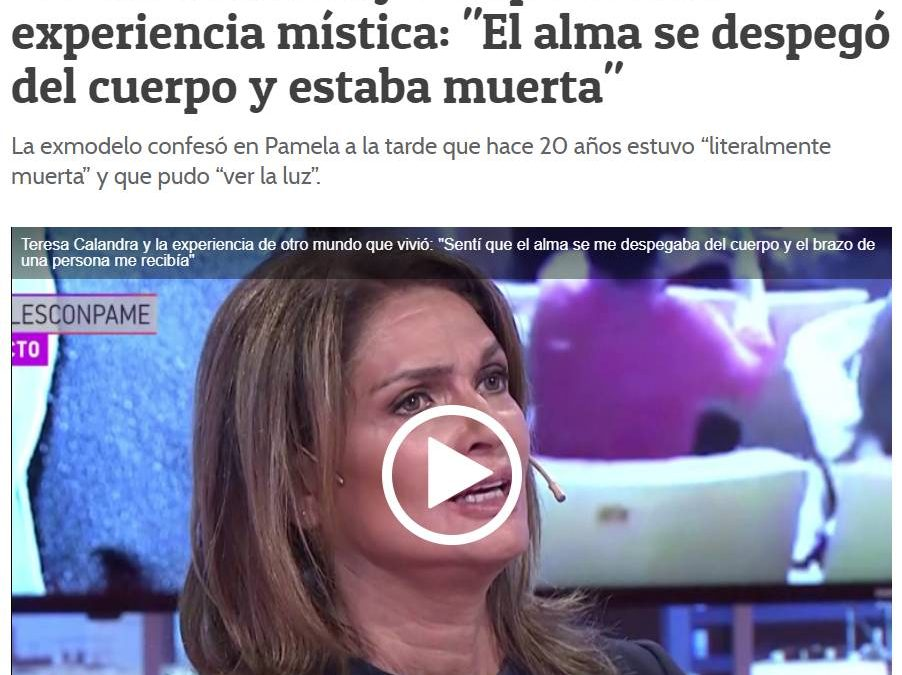 'TERESA CALANDRA SIEMPRE HA SIDO MUY ARRIBISTA'