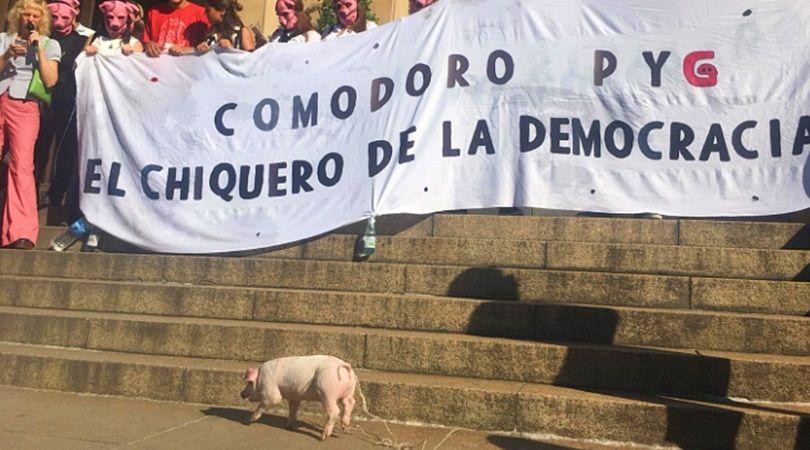 LANP LE ACONSEJA A CFK COMO ARREGLARSE PARA COMODORO PY