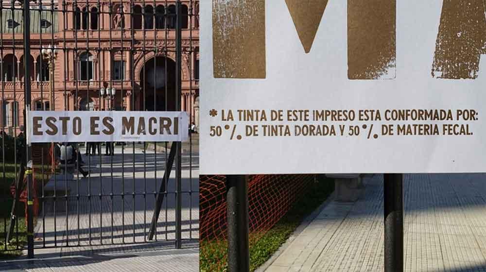 UN PIERO MANZONI ARGENTINO EN LA PLAZA DE MAYO
