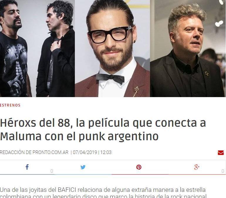 'LA REALIDAD DEL PUNK A FINES DE LOS OCHENTA EN BUENOS AIRES'