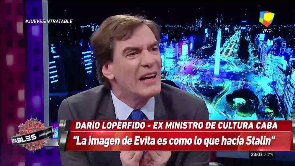 'CHAILE Y LOPÉRFIDO OPERAN EN EL MISMO CAMPO, PARA ABAJO CON LA CONMISERACIÓN, PARA ARRIBA CON EL DESPRECIO'