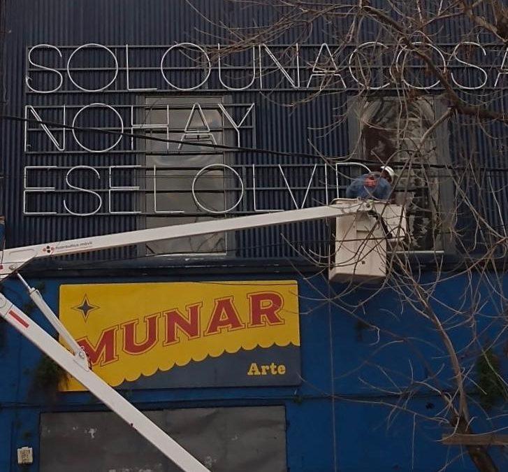 DOLORES CÁCERES EN EL MUNAR ARTS CON UNA INSTALACIÓN DE MATERIALIDADES HERIDAS