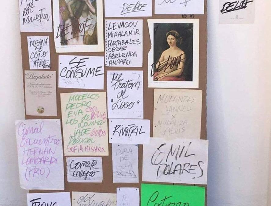 LA CAÑECHAT CON EL GRAN SERGIO DE LOOF A POCO DE SU MUESTRA EN EL MUSEO DE ARTE MODERNO