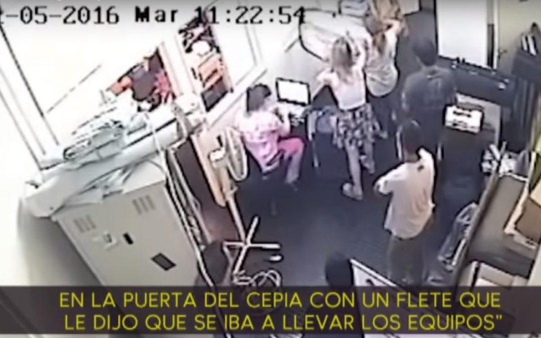 EL VIDEO DE LA NOVIA DE AVELLUTO GRABADO POR EMPLEADOS ¡CON LAS MANOS EN LA MASA!