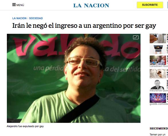MI CAÑECHAT CON 'EL GAY ARGENTINO DEPORTADO DE IRÁN'