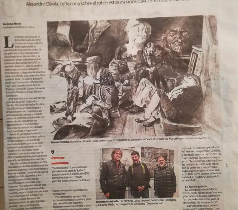 COACHEE LUCAS JALOWSKY EN LA VOZ DEL INTERIOR