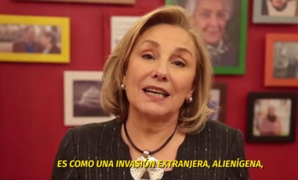 'LA PRIMERA DAMA CHILENA. NADA MAS QUE AGREGAR.'