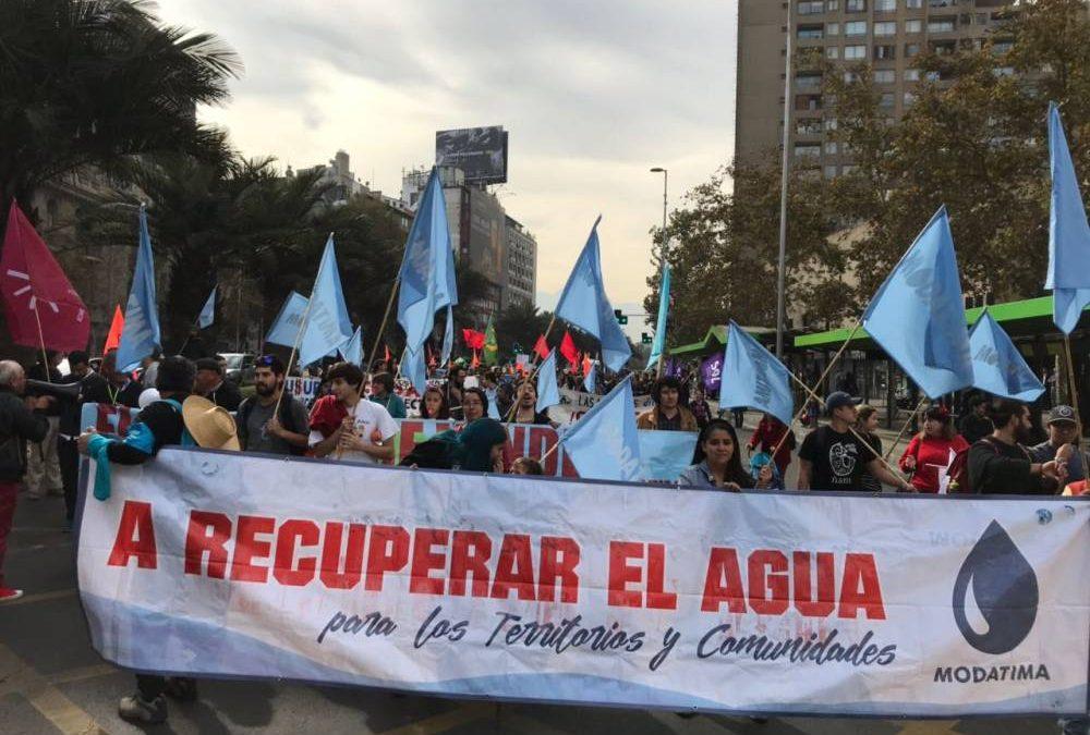 'EN CHILE EL AGUA NO ES UN BIEN PÚBLICO, ES UN BIEN PRIVADO'