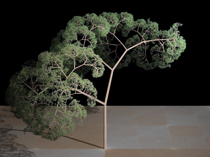 HOY, FRAKTAL TREE (QUE YA NO TOCA MÁS)
