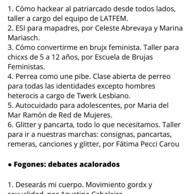 MI RESEÑA DE LOS TALLERES FEMINISTAS EN EL KONEX Y LA CULTURA DEL HOMBRE GRIS DON PORFIDIANO